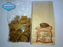 Грінки домашні зі смаком сала з часником в еко-пакеті 150 г (30шт/ящ)