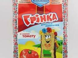 Гренки со вкусом томата