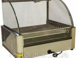 Гриль роликовый со стеклом Rauder JRG-10GD