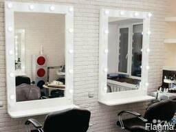 Гримерное зеркало с лампочками быстро и качественно