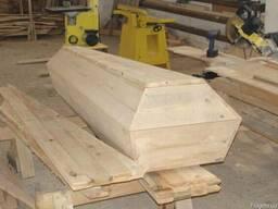 Гроб деревяний