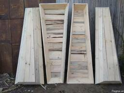 Гробы деревянные