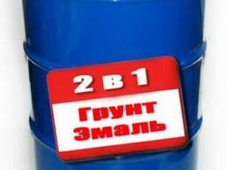 Грунт-эмаль 2 в 1 (ПФ-115 - ГФ-021) 50кг антикрррозионная