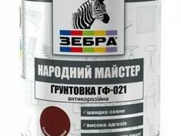 """Грунт ГФ-021 Зебра """"Народный мастер"""" 2, 8 кг"""
