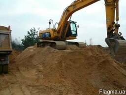 Грунт, глина, песок, подсыпка Киев цена