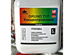 Грунтовка акриловая 5 л 1:4 концентрат TOTUS Grunt T17