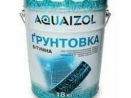 Грунтовка битумная Aquaizol 18 кг Харьков