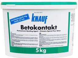Грунтовка Knauf Betokontakt (Бетоноконтакт) адгезионная