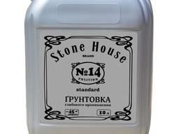 """Грунтовка Stone House """"Standart"""" №14 , 10л"""