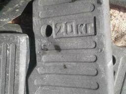 Груз передний (противовес) на МТЗ-80, МТЗ-82 70-4235011