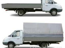 Грузоперевозки до 3 тонн, 18 м3 цельномет-кузов 4650