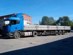 Грузоперевозки от 1 тон до 22 тонн.