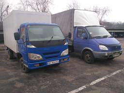 Грузовое такси до 3-х тонн по Днепру и Украине. Грузчики.
