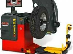 Грузовой балансировочный стенд Пневмоприжим WB 680 P