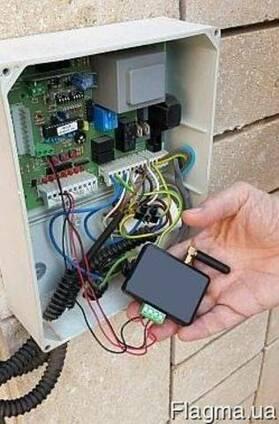 GSM модуль для управления ворот и шлагбаума установка Одесса