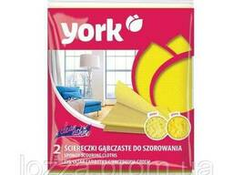 Губчатая салфетка с чистящим слоем Clean&Shine York. .. - фото 1