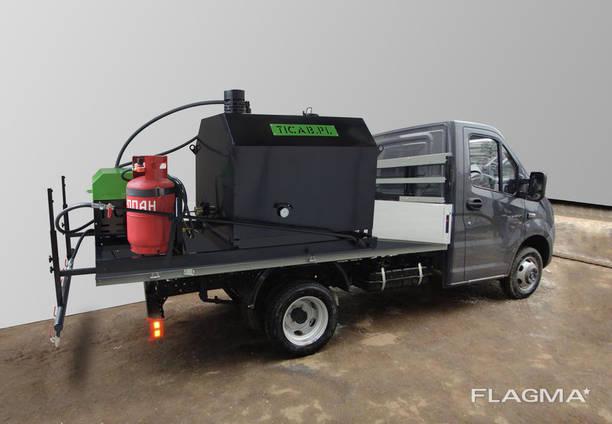 Гудронатор Пръскачка асфалтова 1000 л за инсталация в тялото или ремарке