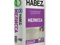 HABEZ-Мелисса, клей монтаж для ПГП и ГКЛ на осн. гип.