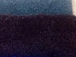 Халат махра цветная с капюшоном,однотон, с логотипом