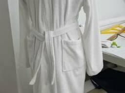Халат махра, кимоно, отельный, унисекс, с лого-под заказ