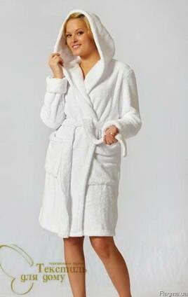 d063973b6795d Халат махровый белый с капюшоном цена, фото, где купить Херсон ...