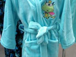 Халат махровый детский мягкий 98р, доставка по Украине