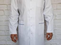 Халат медицинский мужской ткань мед твил