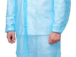 Халат одноразовый на кнопках халат медицинский