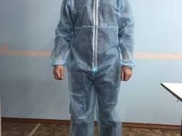 Халат защитный (защитный костюм)