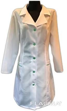 Халат женский медицинский габардин
