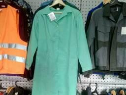 Халат рабочий с габардина, рабочая одежда