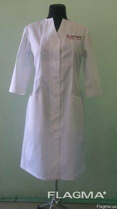 Халаты для фармацевтов, работников аптек, лабораторий, мед