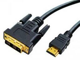 HDMI-DVI-10 m - Кабель HDMI - DVI - 10 метров