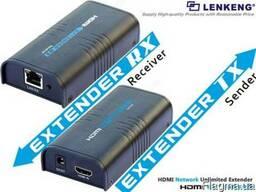 HDMI удлинитель по одной витой паре на 120 метров - LKV373