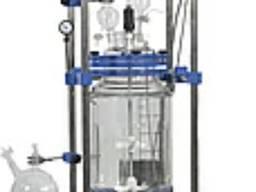 Химический лабораторный реактор стеклянный BL 50 I, с рубашкой