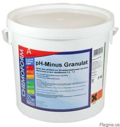 Химия для бассейнов Chemoform pH минус.