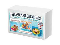 Флокулянт (коагулянт) в картриджах для очистки и осветления мутной воды в бассейне 1 кг