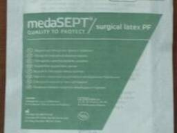 Хирургические перчатки, medaSEPT surgical latex PF, неопудр,