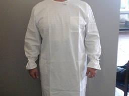Хирургический халат, халат хирурга белый