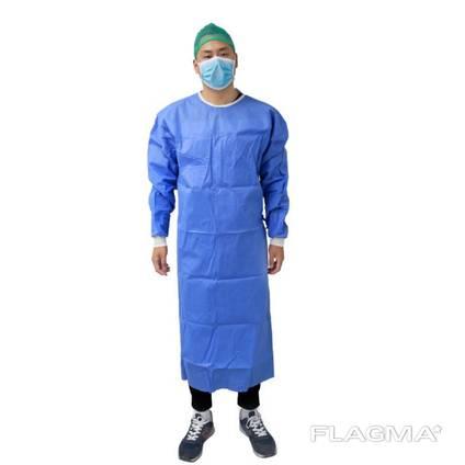 Хирургический одноразовый халат