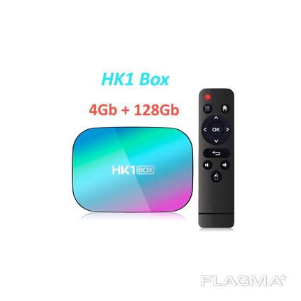 HK1 BOX 4 128GB S905X3 ТВ приставка Smart TV Box A95X96H96