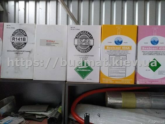Продам фреоны R22, R134а, R404а, R507, R407с, R410а, R406а