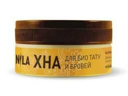 Хна для бровей и мехенди коричневая, Nila 10 г.