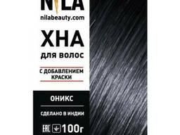 Хна для волос Оникс, 100 гр, Nila