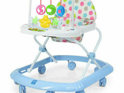Ходунки на колёсах Bambi музыкальный (Голубой) (M 0591-S(Light-Blue))