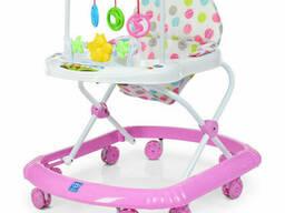 Ходунки на колёсах Bambi музыкальный (Розовый) (M 0591-S(Pink))