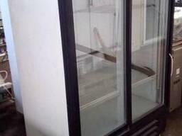 Холодильна шафа б/у INTER скляні двері