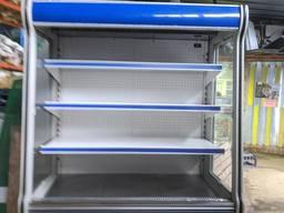 Холодильная горка Cold 1. 4 м. Холодильная горка бу. Стеллаж