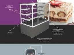 Холодильная кондитерская витрина РОСС Cremona Cube - 0,9
