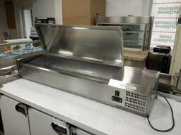 Холодильная витрина для топпинга GGM Gastro AGG144EN б/у